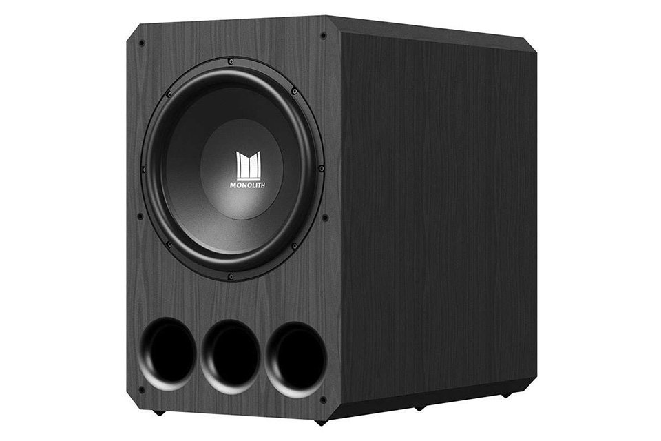 """monolith 15"""" powered subwoofer"""