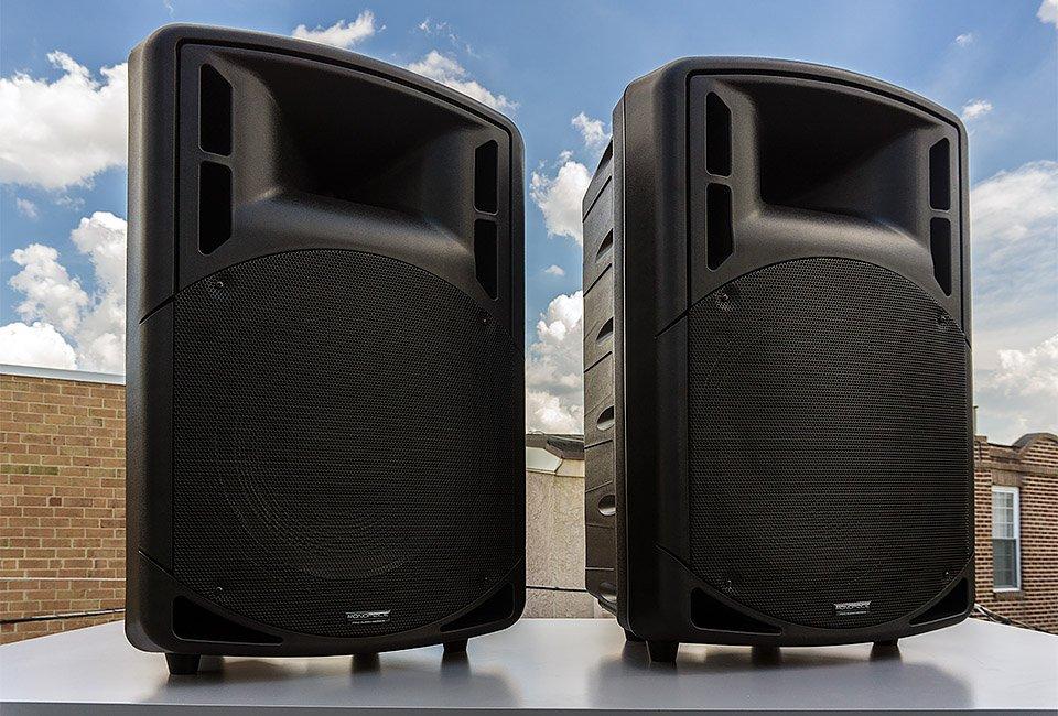 Monoprice 15 Passive PA Speakers Review