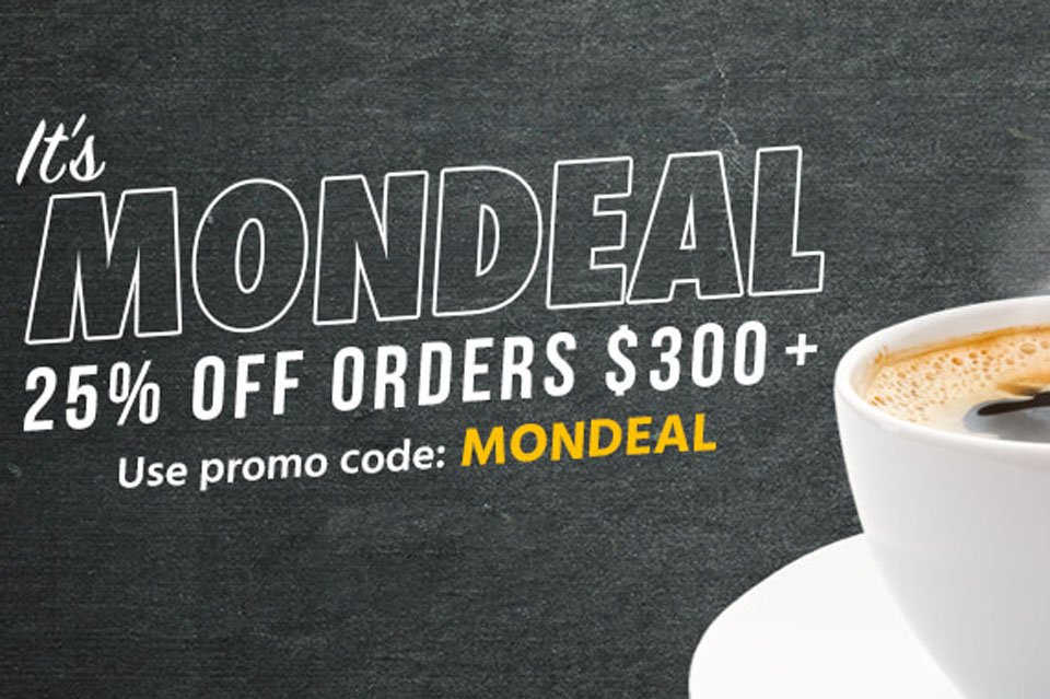 Monoprice Deal: 25% Off Orders Over $300