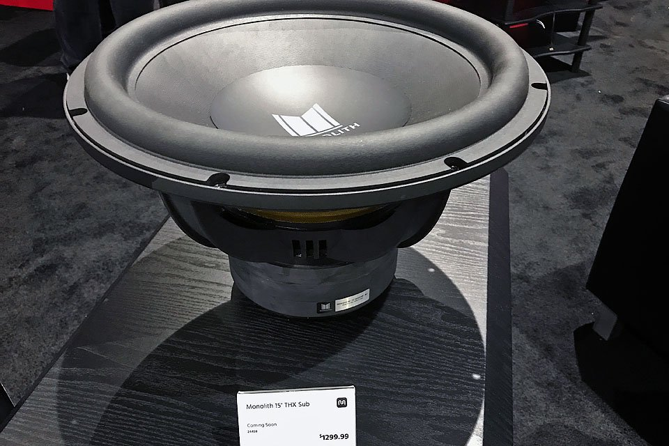 Monoprice THX-Certified Monolith Subs at CEDIA 2017