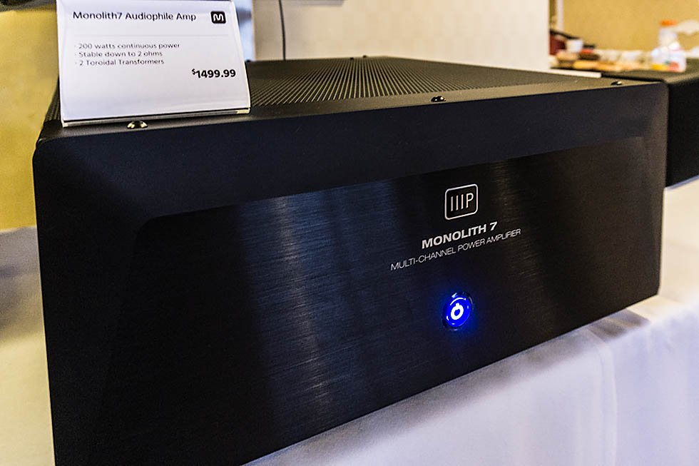 Monoprice Monolith 7 Amplifier at CES 2016