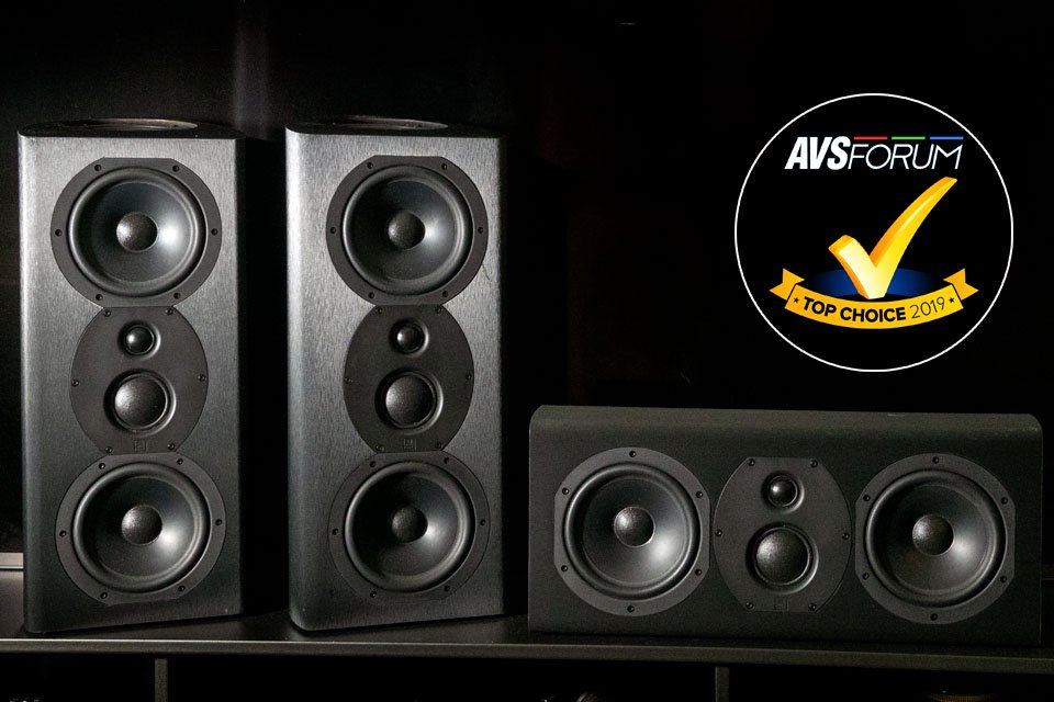 Monoprice Monolith THX Certified HT Speakers w/Atmos: 5 1 4