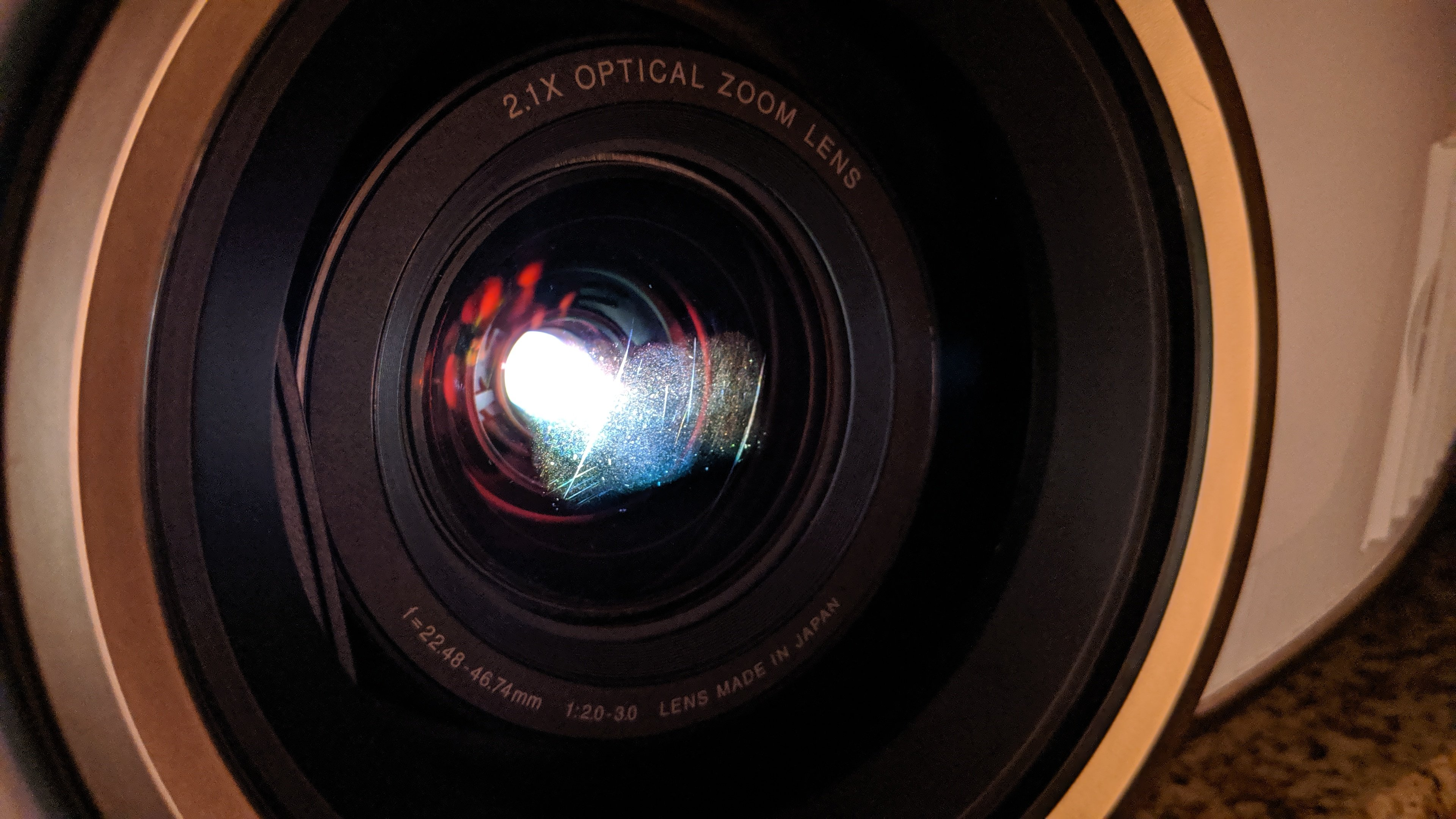 Epson 5040 front lens scratch or scuff - removal? | AVS Forum