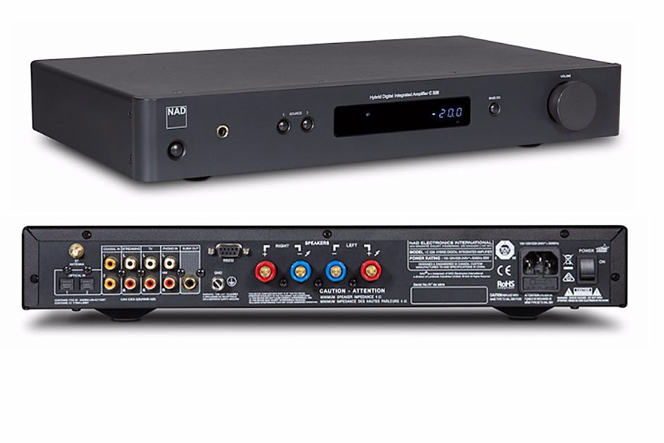 NAD Electronics Introduces C 328 Integrated Amplifier