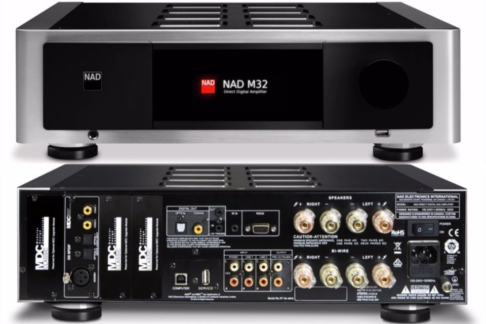 NAD M32 Master Series integrated amplifier