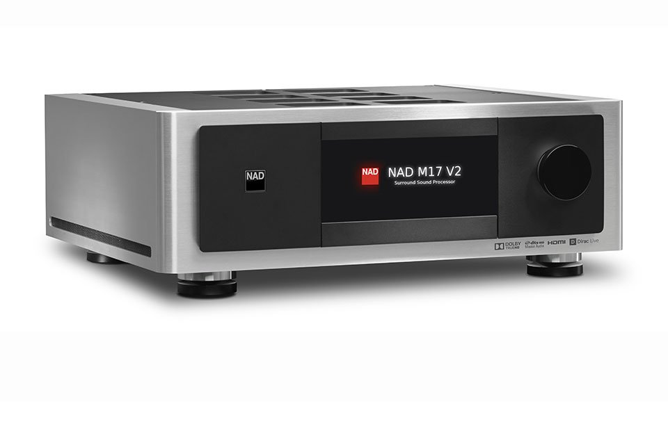 NAD Unveils Masters M17 V2 AV Pre/Pro, Atmos & Dirac MDC Modules at ISE 2018