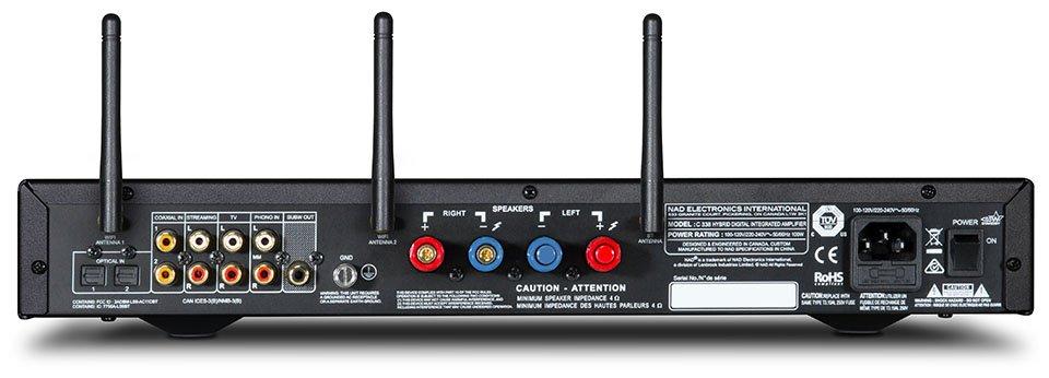NAD C 338 HybridDigital Integrated DAC/Amp with Chromecast