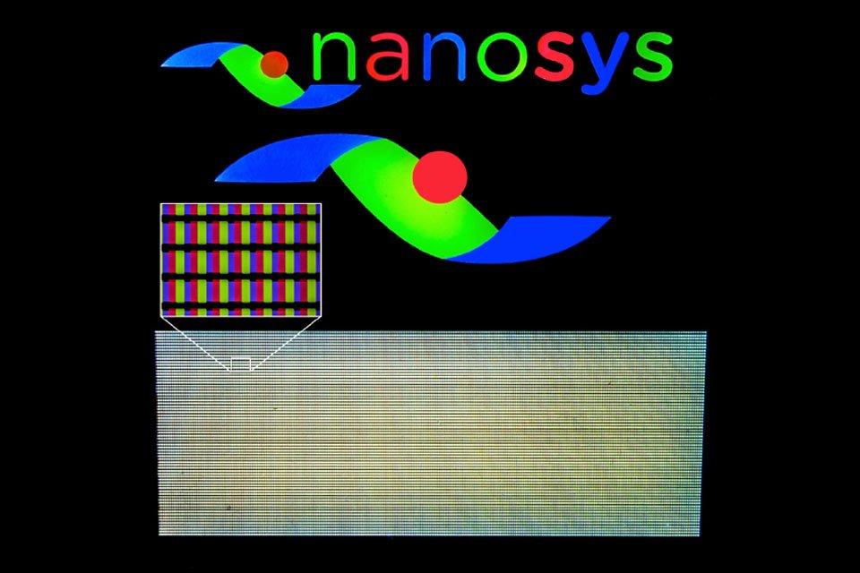 nanosys patterned quantum dots