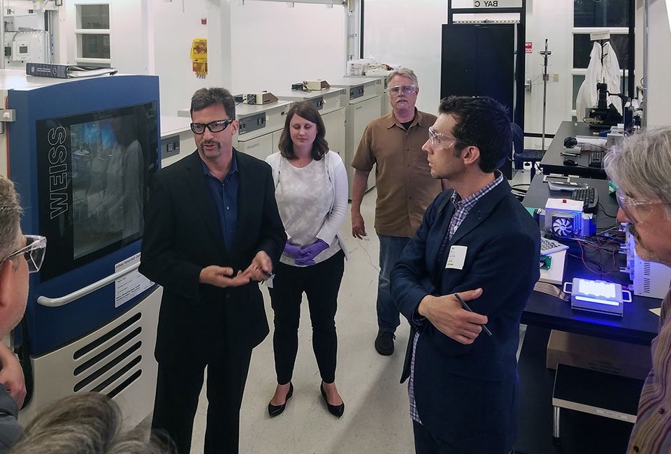 Nanosys Quantum Dot Fabrication Facility Tour