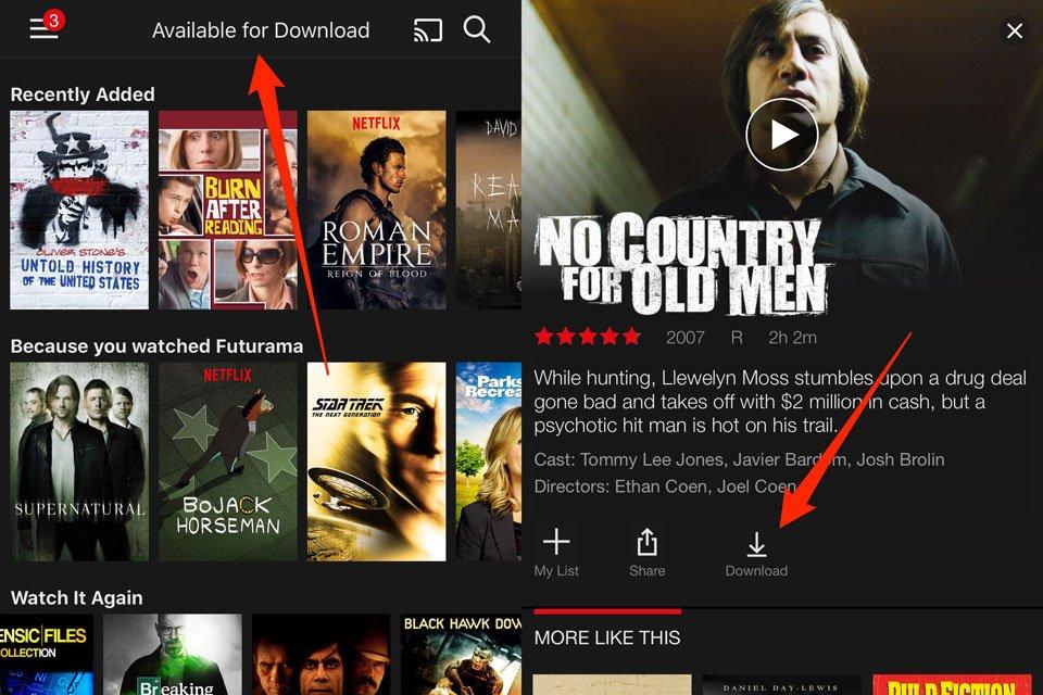 Download Netflix Content for Offline Viewing - AVSForum com
