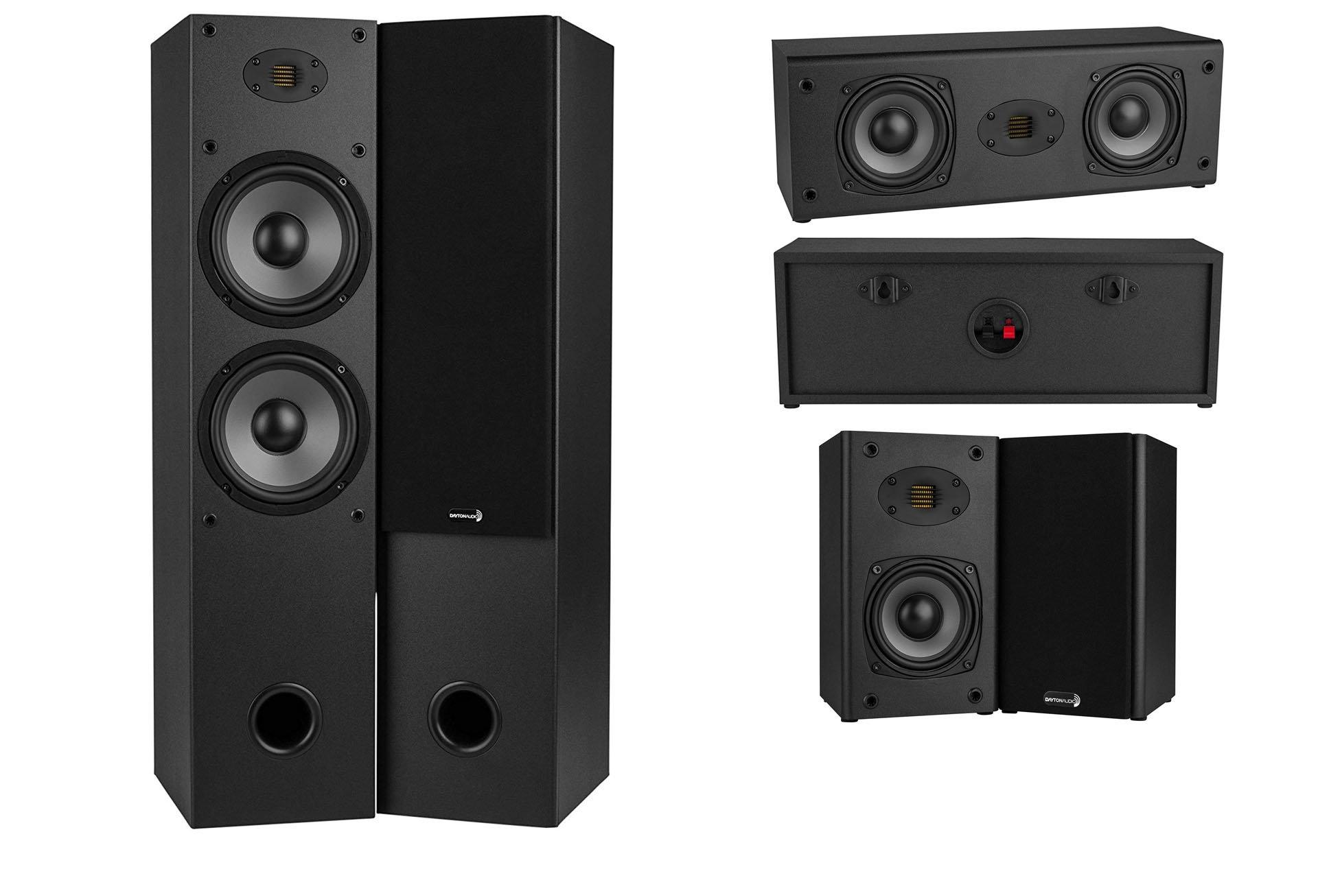 Dayton Audio Announces B452-AIR, T652-AIR and C452-AIR Speakers