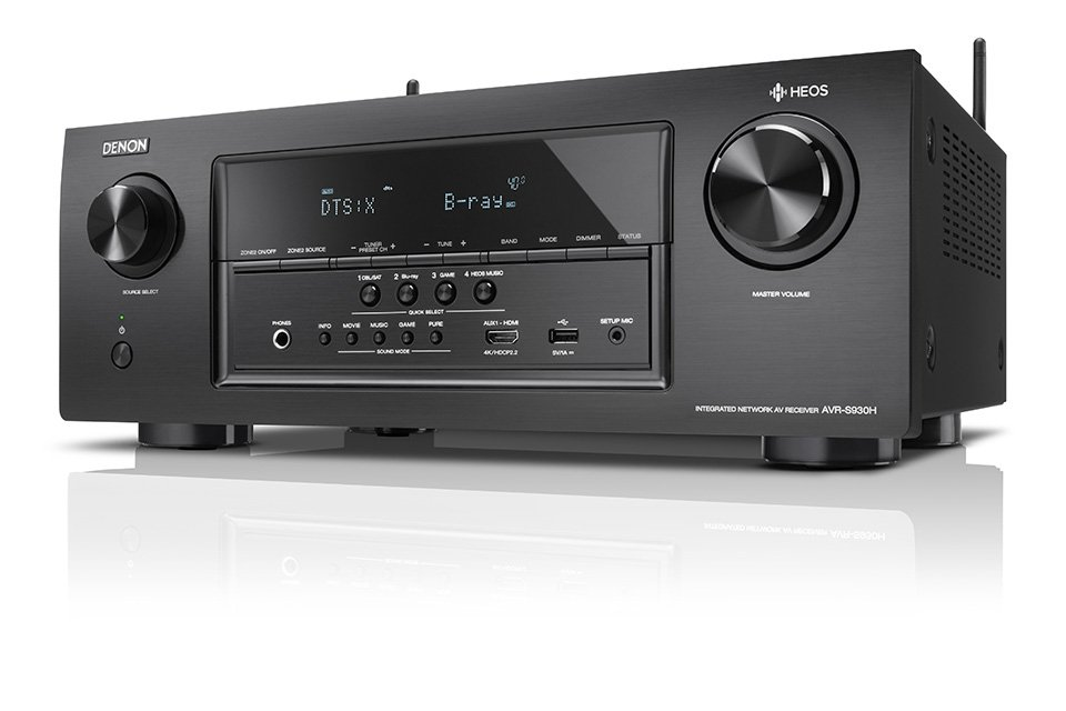 Denon S-Series AVRs with HEOS & Dolby Vision Unveiled