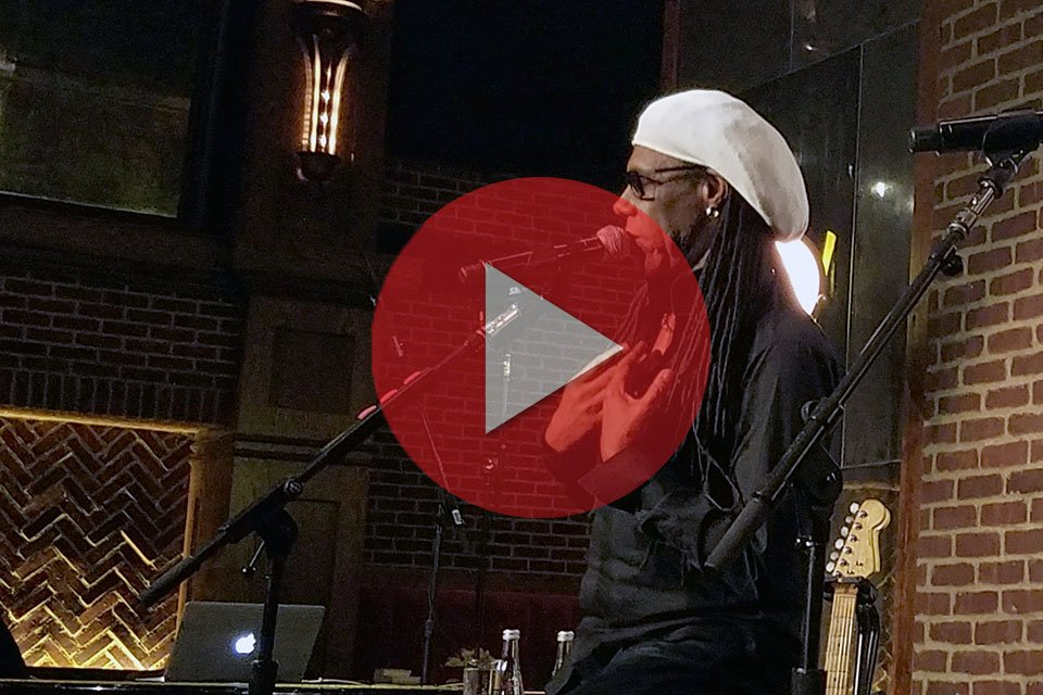 Nile Rodgers at Rock and Roll Hall of Fame Induction VIP Party