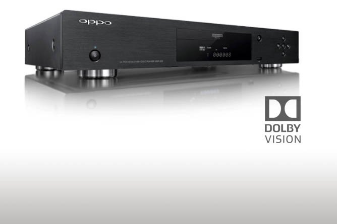 Firmware Update Activates Dolby Vision for Oppo UDP-203 & UDP-205 UHD Blu-ray Players