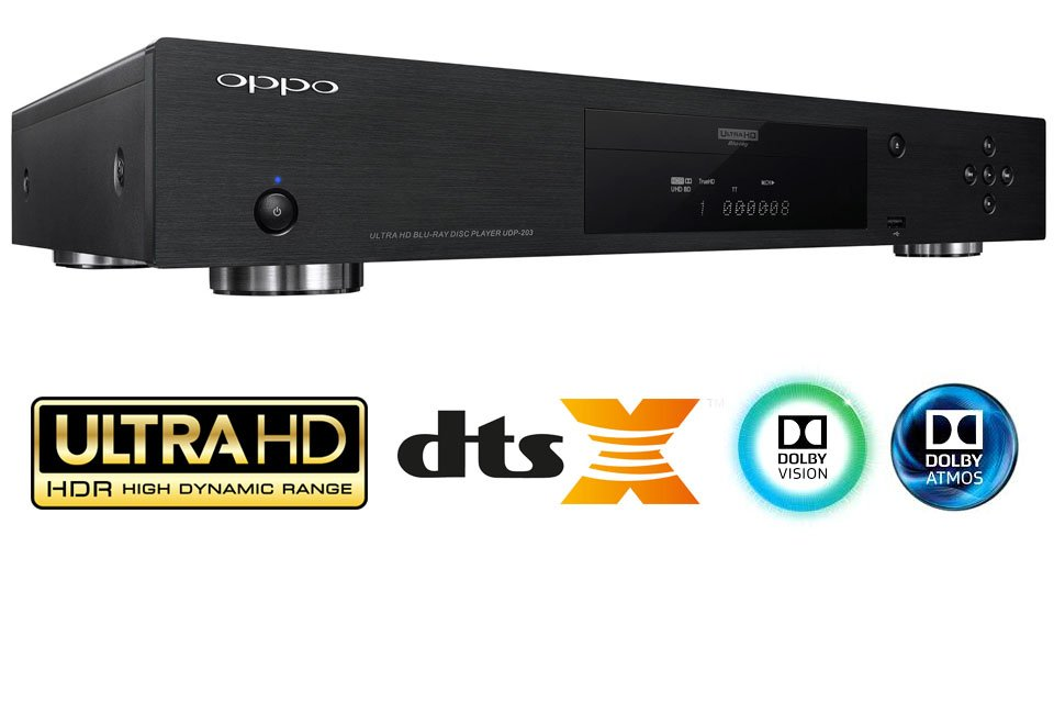 Oppo UDP-203 4K Ultra HD Blu-ray Player Released