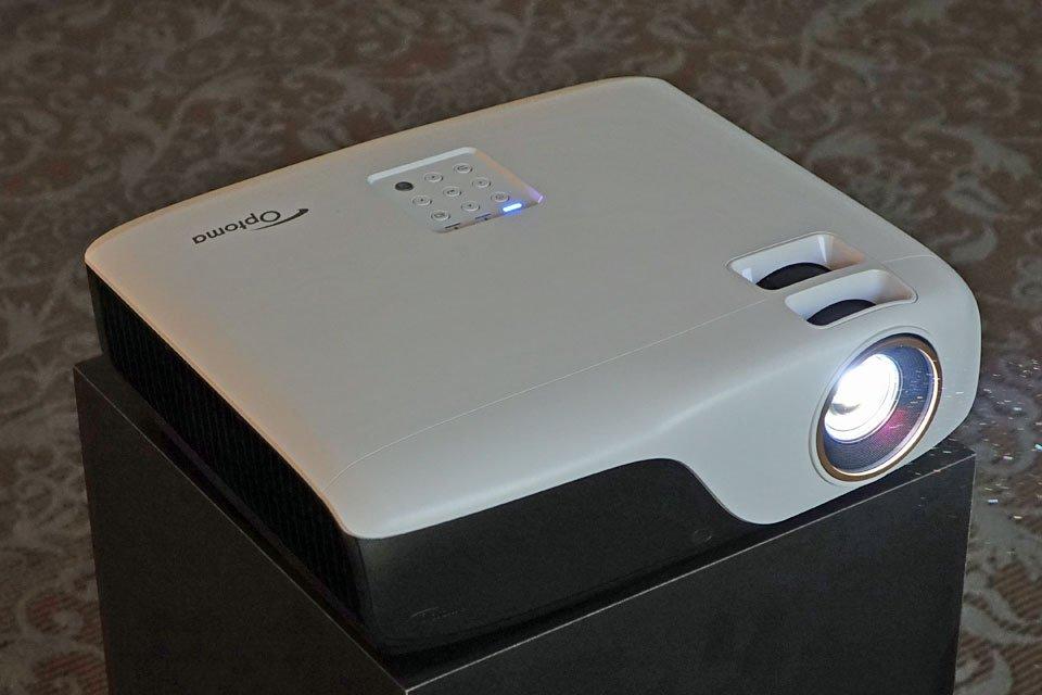 Optoma ZH55, HD29Darbee, GT1080Darbee HD Projectors at CES 2017