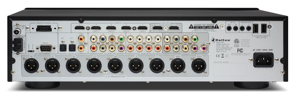 Ongekend Outlaw Model 976 7.2-Channel Surround Processor Now Available ZZ-27