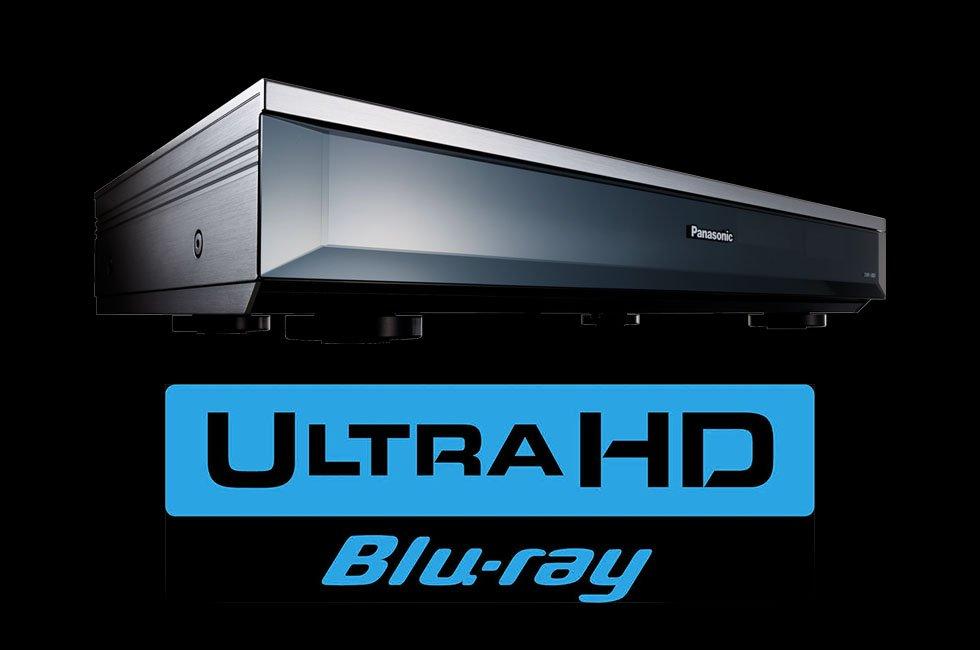Panasonic UBZ1 Ultra HD Blu-ray player japan