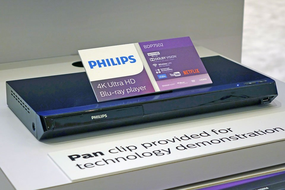 Philips BDP7502, BDP5502 UHD Blu-ray Players at CES 2017