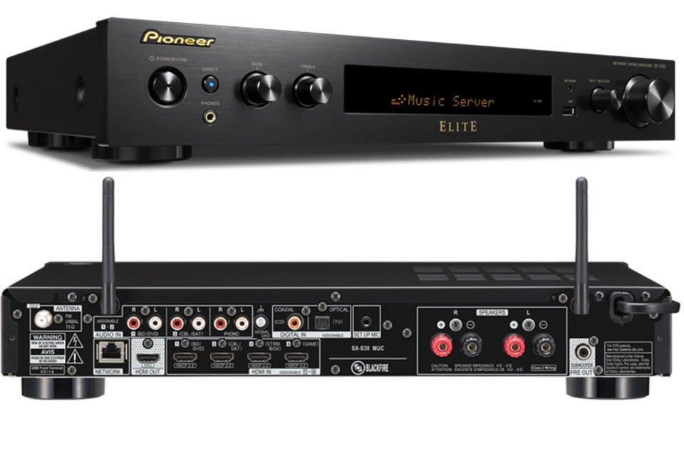 Pioneer Announces Elite SX-S30 2-Channel Networked AV Receiver