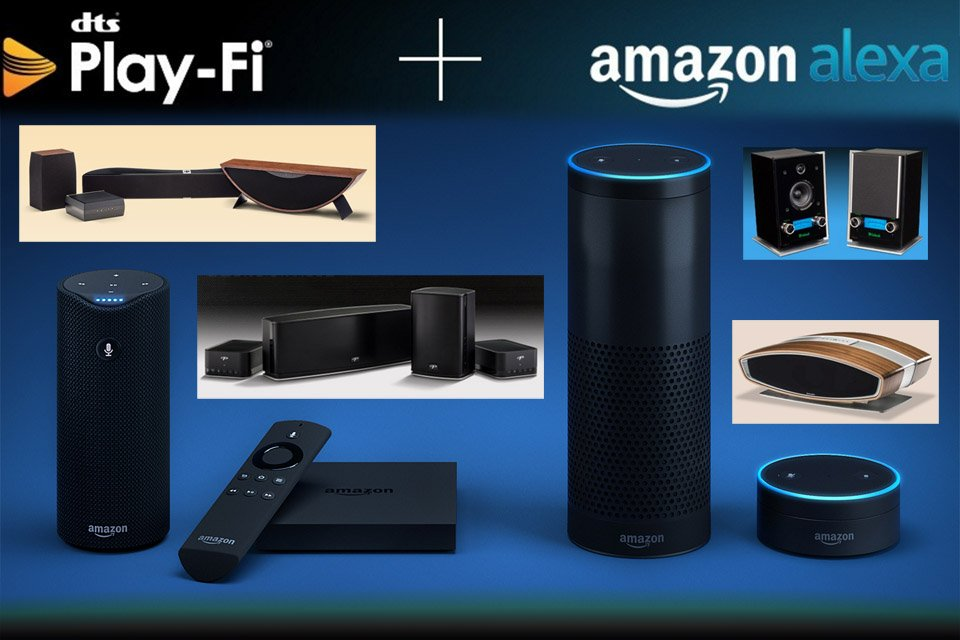 DTS Play-Fi Adding Amazon Alexa Voice Service