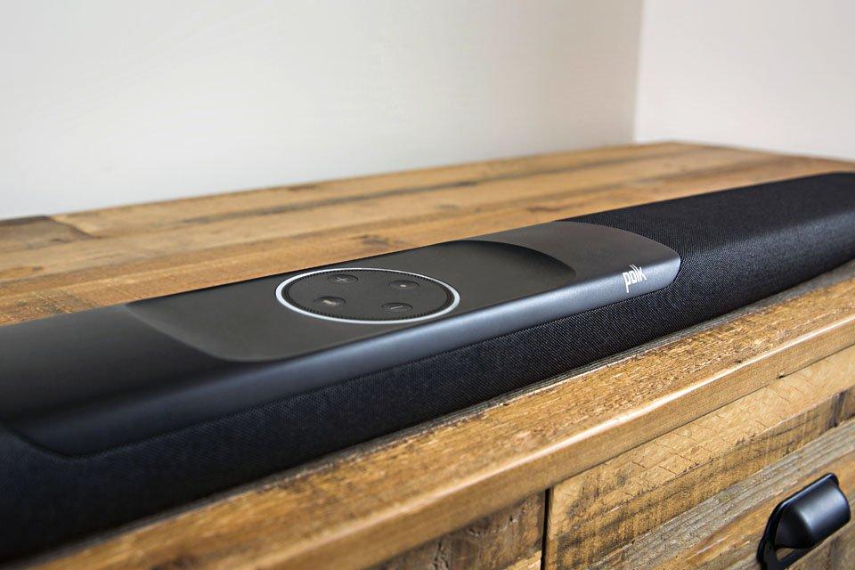 Polk Command Bar Soundbar with Amazon Alexa
