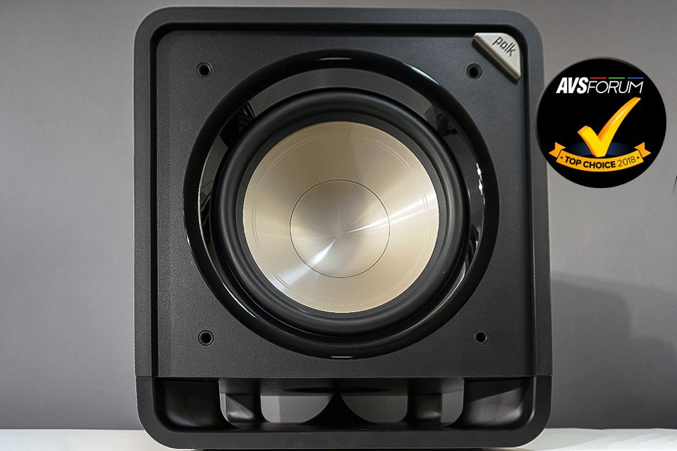 """The Polk HTS12 is a 12"""" ported subwoofer that's highly affordable, attractive, well-built, and promises to deliver deep bass with low distortion."""