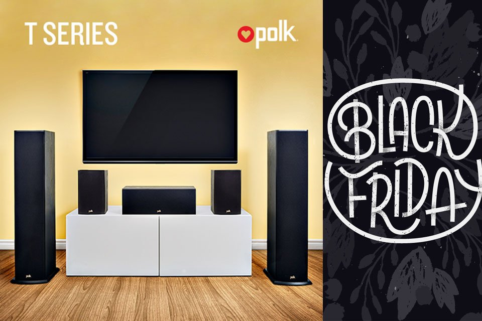 Polk Audio Specials for Black Friday & Cyber Monday