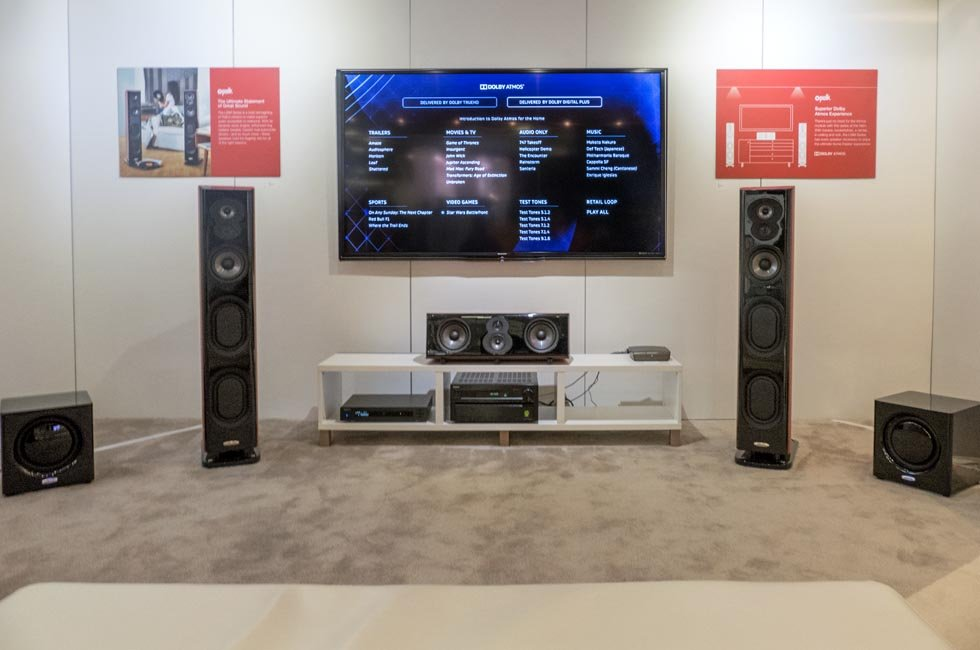 Polk Dolby Atmos 7 1 4 Demo at CEDIA 2015 - AVSForum com