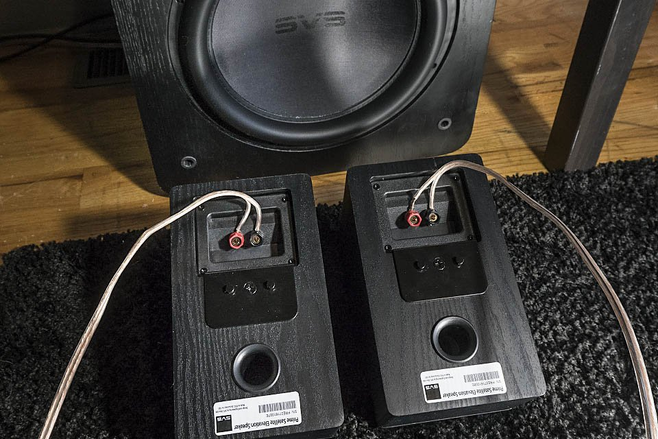 SVS Prime Elevation Speakers And SB13 Ultra Subwoofer