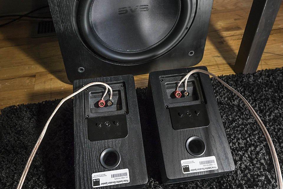 SVS Prime Elevation speakers and SB13-Ultra subwoofer