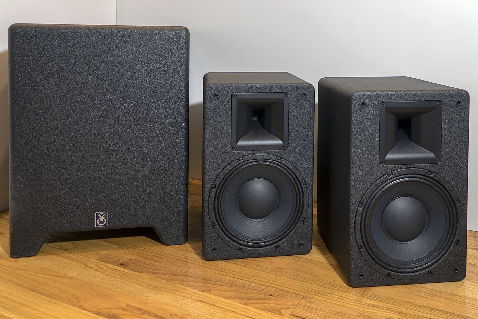 Power Sound Audio MT-110 Speakers and 15V sub