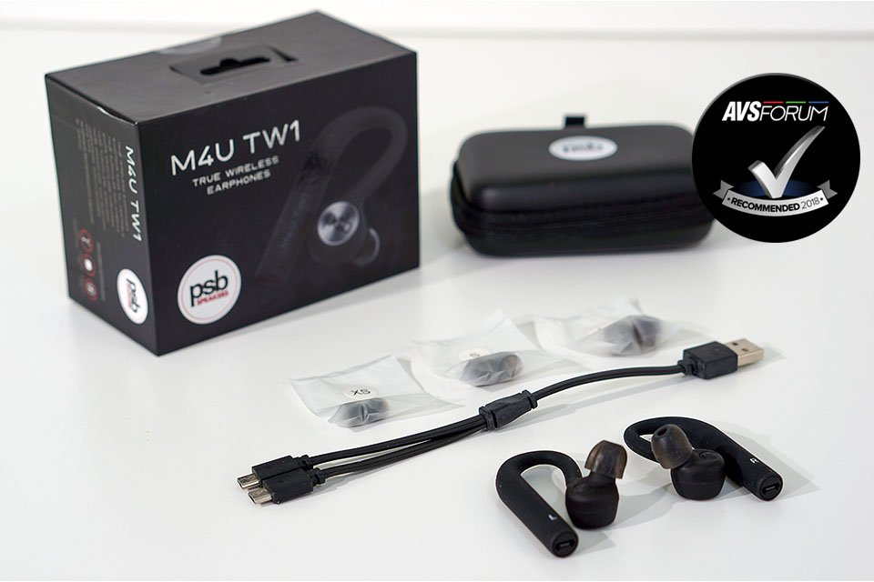 Review: PSB M4U TW1 True Wireless Bluetooth Earphones