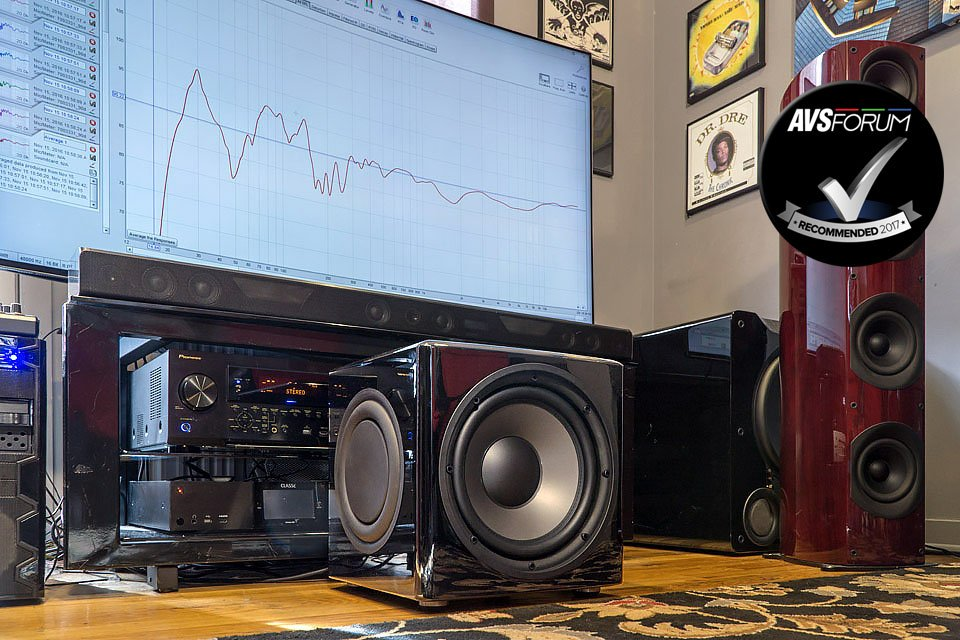 PSB SubSeries 450 12″ DSP Controlled Subwoofer Review