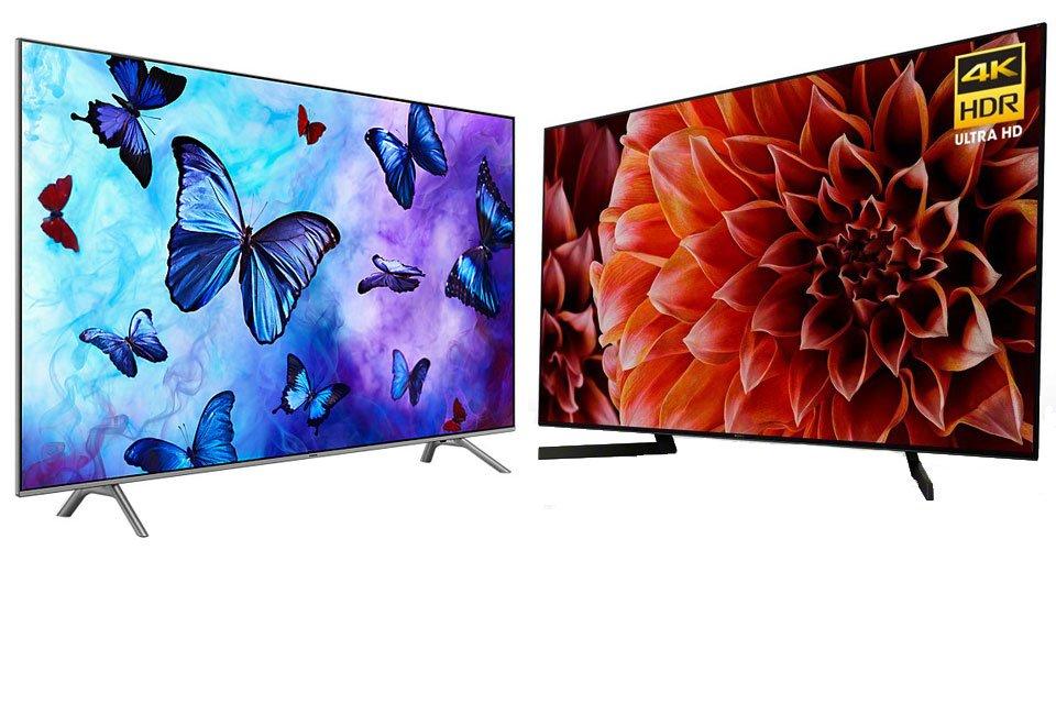 Which 4K HDR TV? Samsung QN82Q6FN vs Sony XBR-75X900F