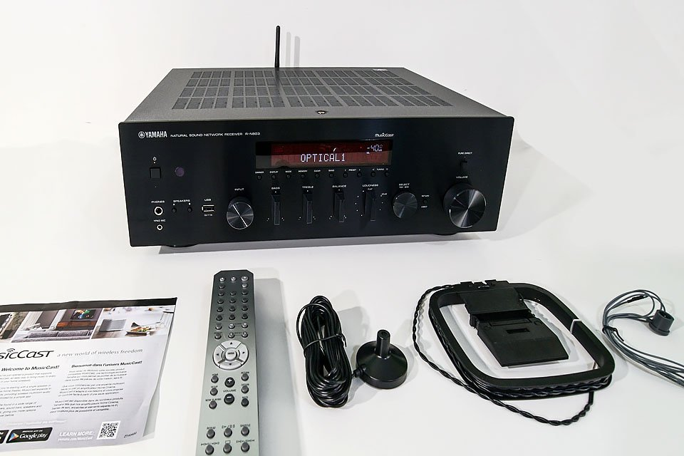 Review Yamaha R N803 Stereo Receiver With Musiccast And