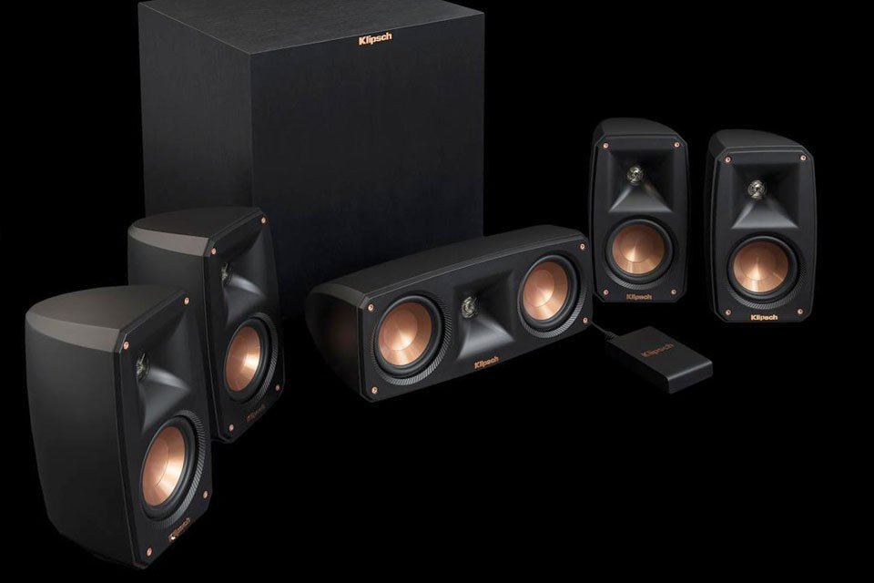 Klipsch Reference Theater Pack 5.1 Speaker System Ships