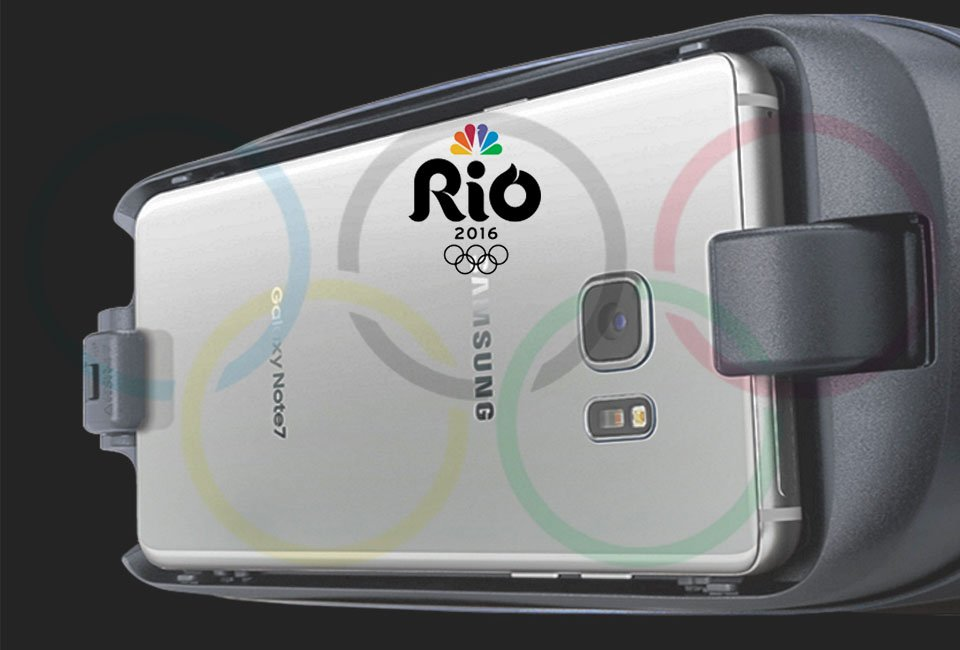 Experience the Rio Olympics with Samsung Gear VR
