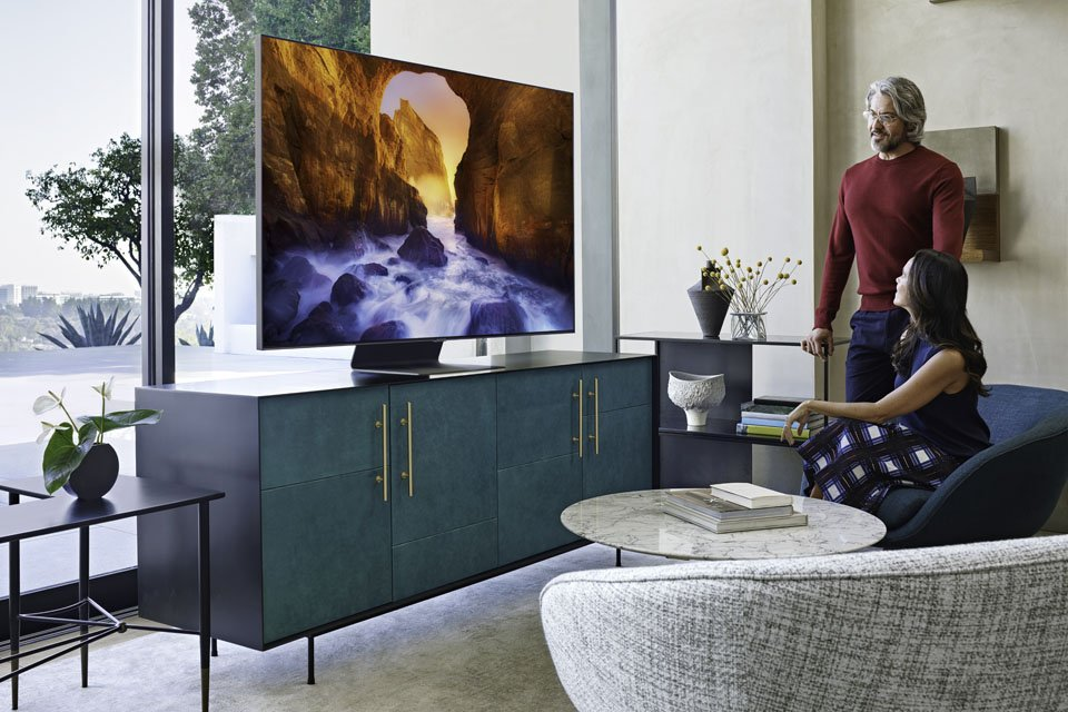 Samsung Launches New 4K & 8K QLED TVs