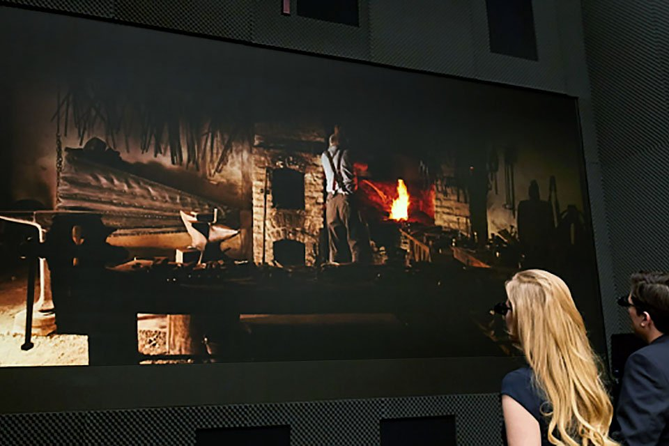 Samsung Debuts 3D Cinema LED and The Wall Professional at ISE 2018