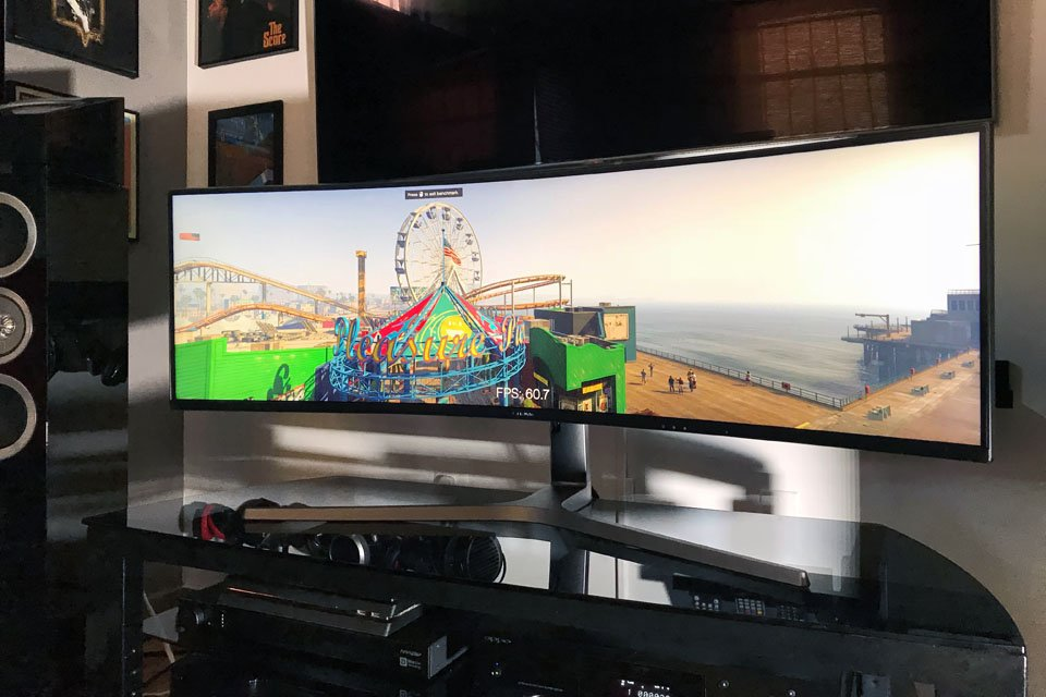 Samsung CHG90 Ultra-Wide Curved Gaming Monitor