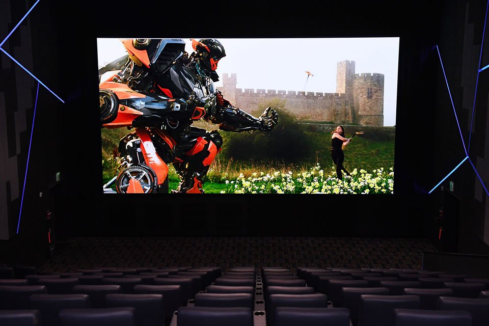 Samsung Cinema LED Screen Demonstrated with EclairColor HDR at CinemaCon 2018