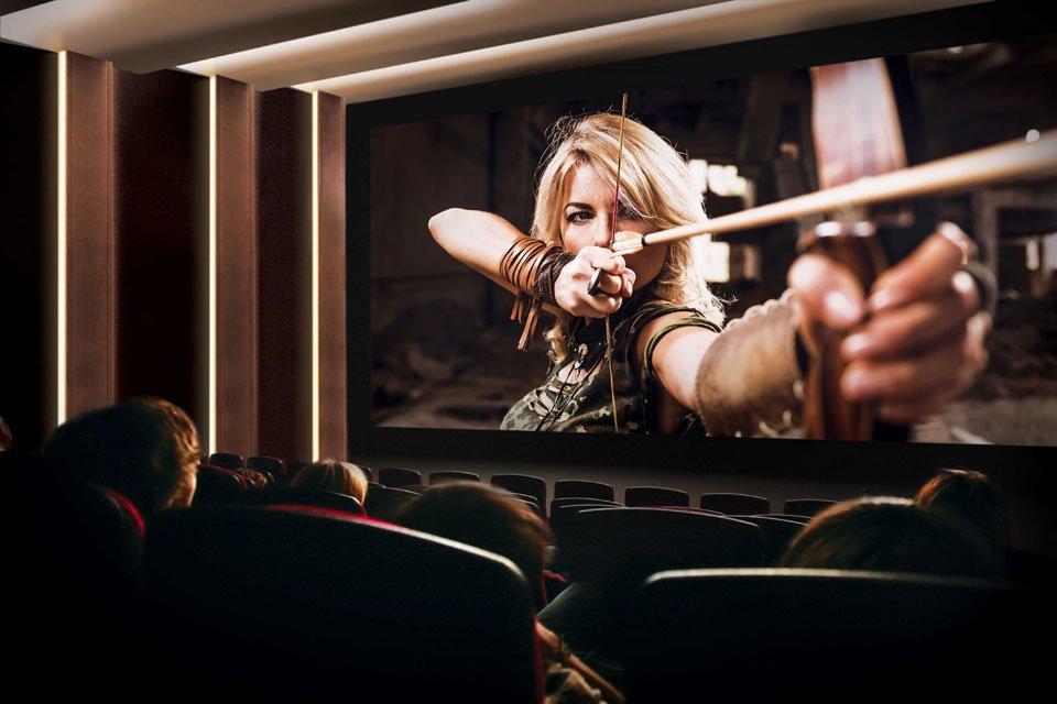 Samsung Cinema Screen at CinemaCon 2017