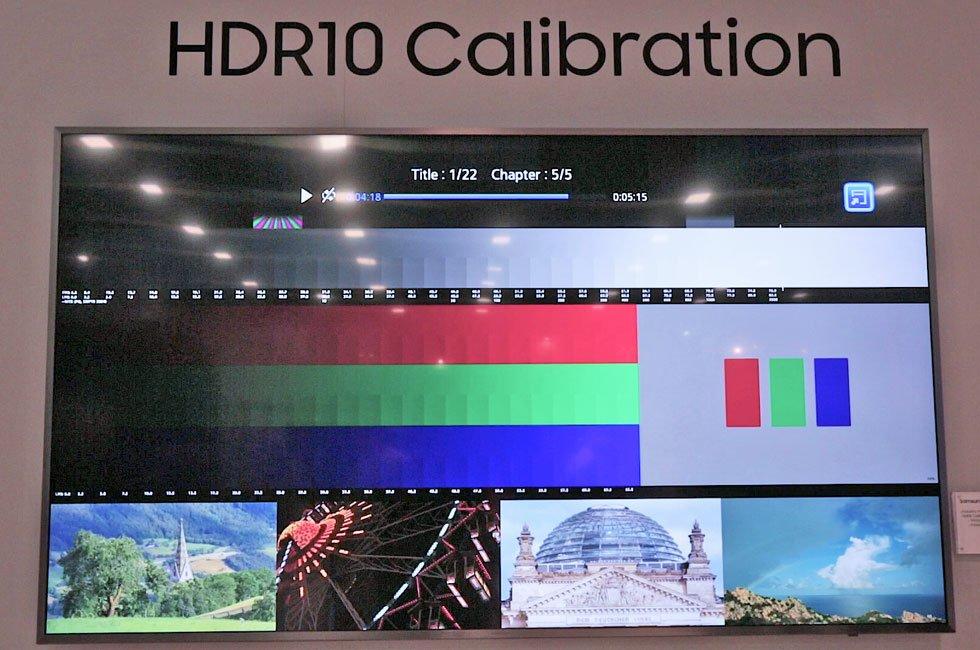 Samsung HDR Calibration Disc & UHD Ecosystem at CEDIA 2016