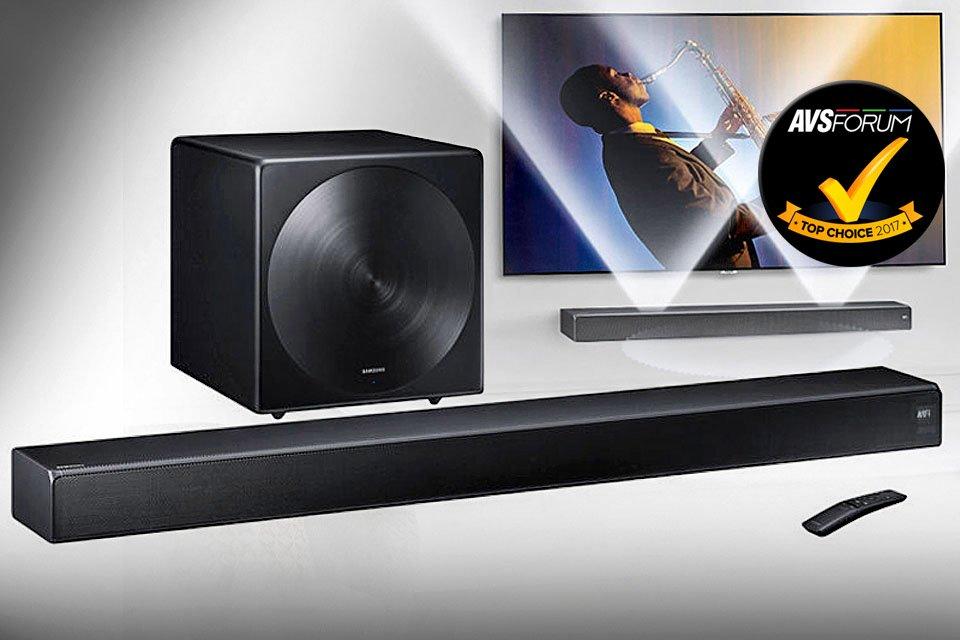 Samsung Sound+ HW-MS750 & SWA-W700 5.1 Soundbar System Top Choice