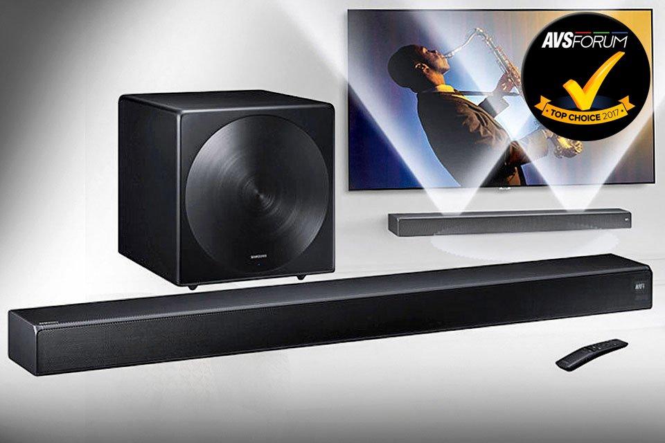 Samsung Sound+ HW-MS750 & SWA-W700 5.1 Soundbar System Review