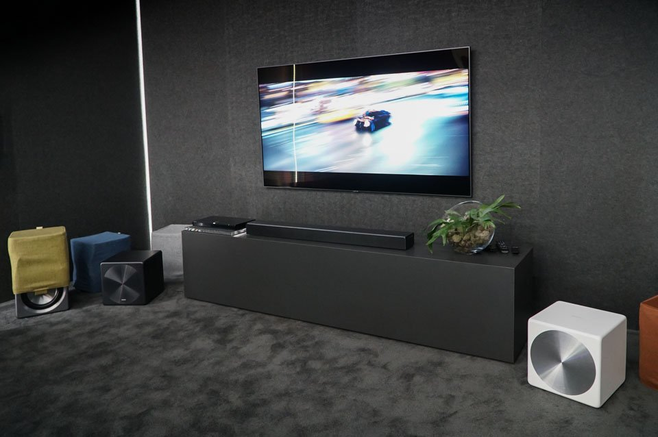 samsung sound+ soundbars and bass+ subwoofers