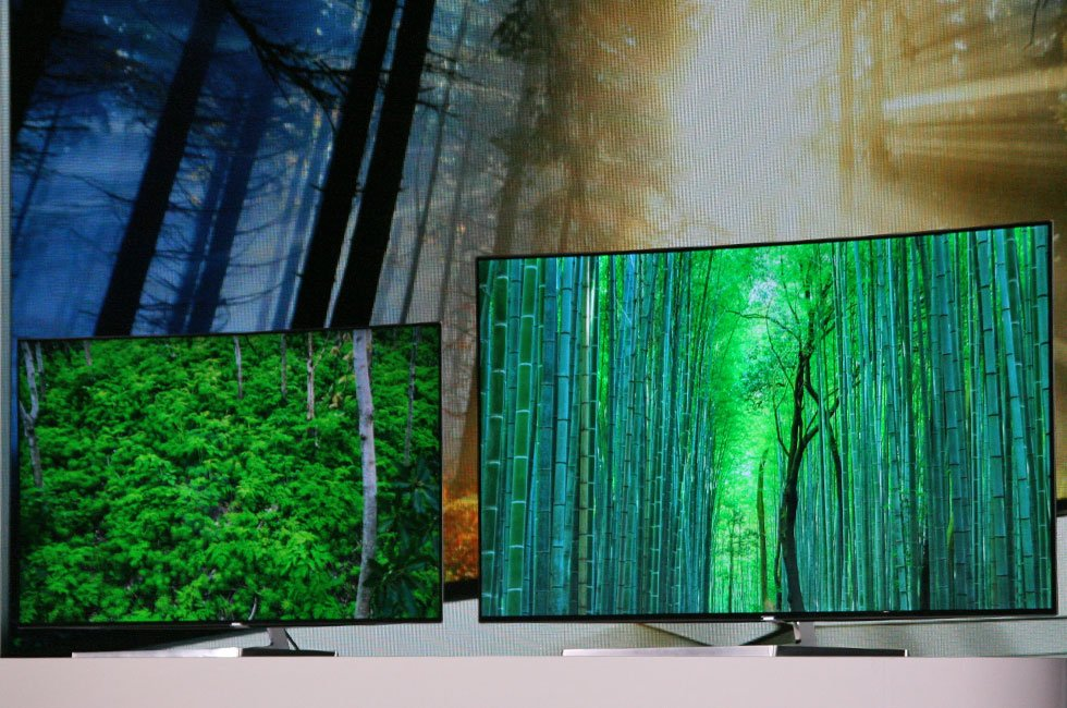Samsung Quantum-Dot SUHD TVs at CES 2016