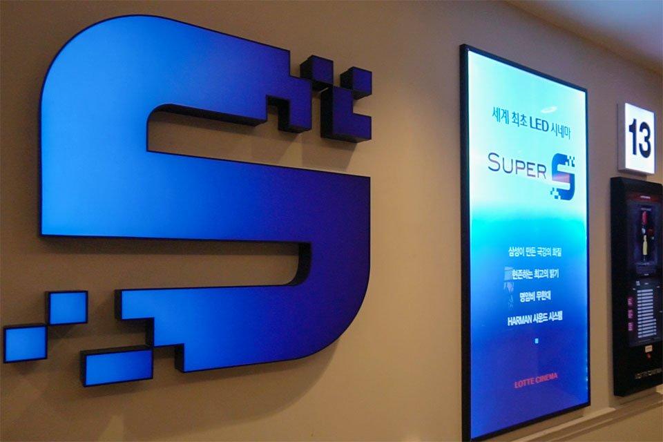Samsung Cinema LED Screen Super S Theater