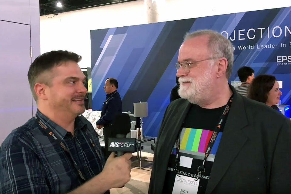 Scott Wilkinson Winner of Epson Pro Cinema 4050 at AVS Meetup – CEDIA 2018